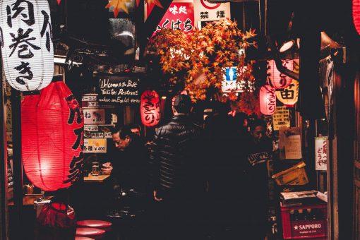 Ginza, Shinbashi, Yurakucho adventurous food tour